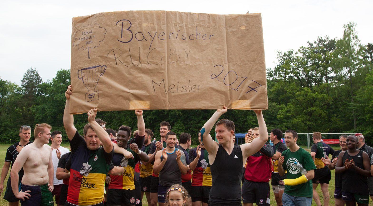 Der vielen mühen Lohn, ist der bayerische Rugby Thron – Nürnberg ist Meister