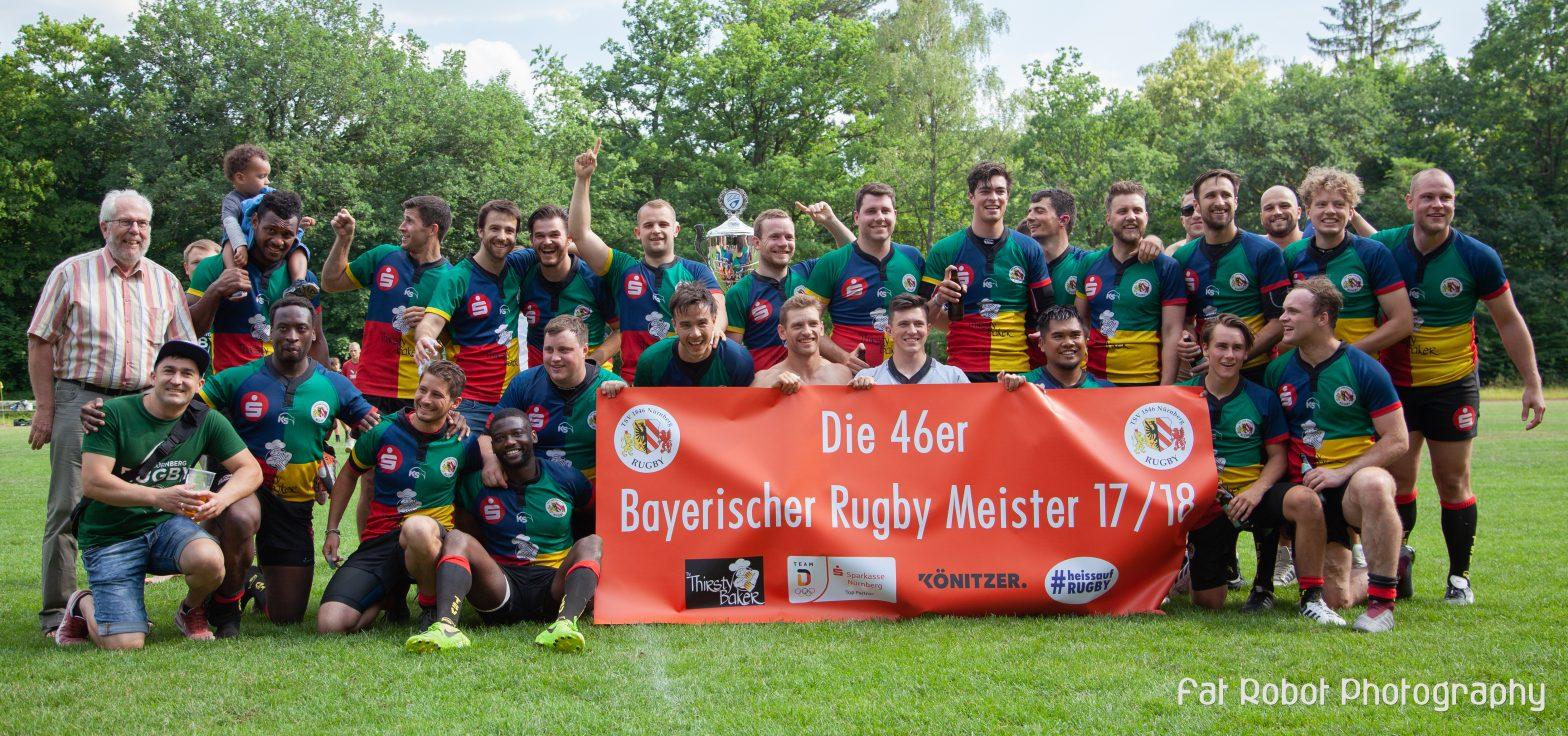 TSV 1846 ist Bayerischer Meister – 2. Bundesliga wir kommen