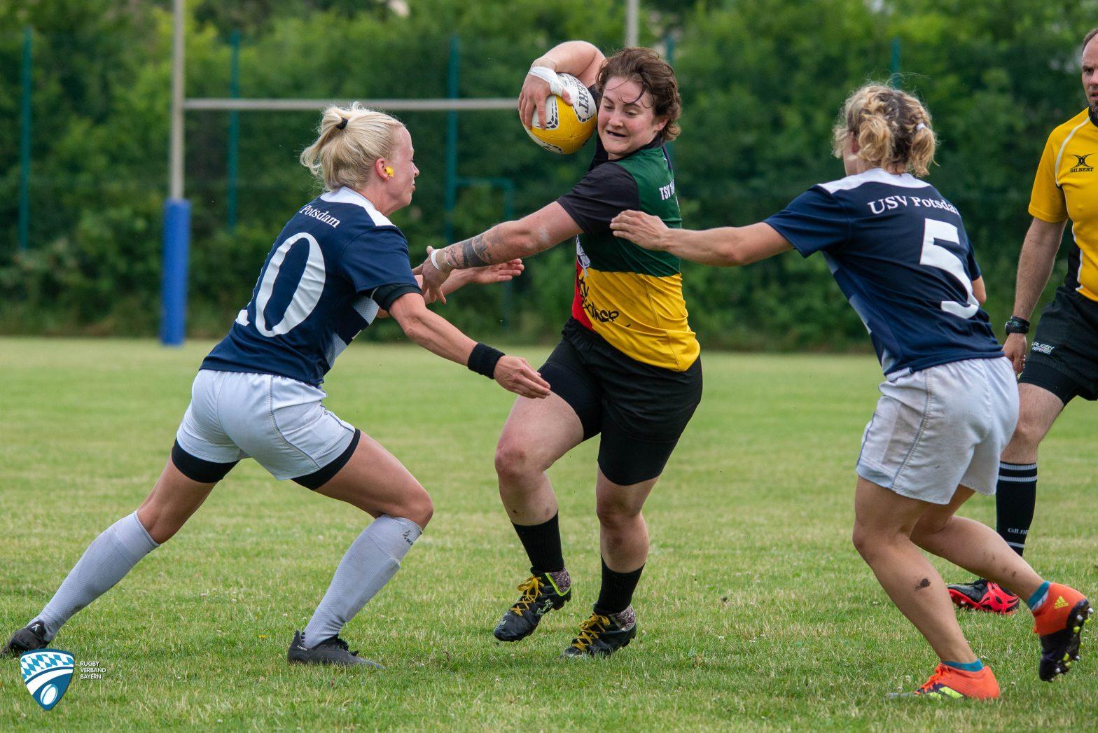 Ein Tag voll Rugby – Die 46er Damen laden zum Turnier